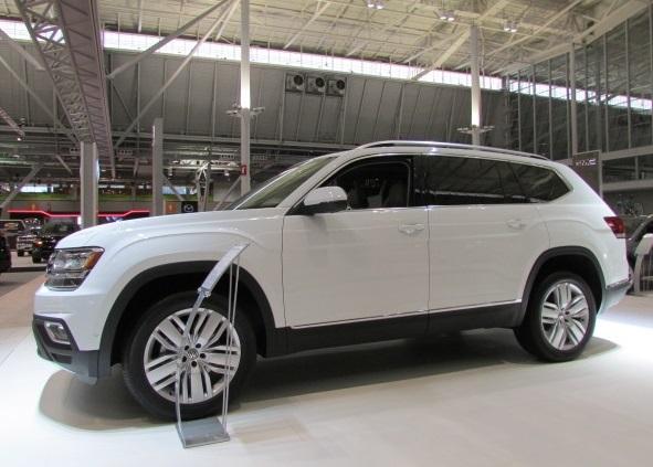 The new Volkswagen Atlas.  (Mike Twist Photo)