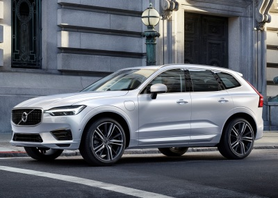 The new Volvo XC60.  (Volvo Photo)