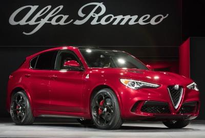 The 2018 Alfa Romeo Stelvio  (FCA Photo)