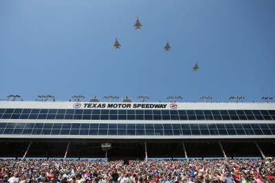 The pre-race festivities of the Texas race.  (NASCAR Photo)