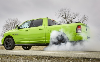 The Ram Sublime Sport at play.  (FCA Photo)
