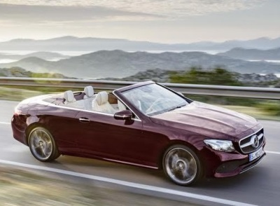 The 2018 Mercedes-Benz E-Class Cabriolet  (Mercedes-Benz Photo)