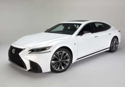 The 2018 Lexus LS500 F Sport  (Toyota Photo)