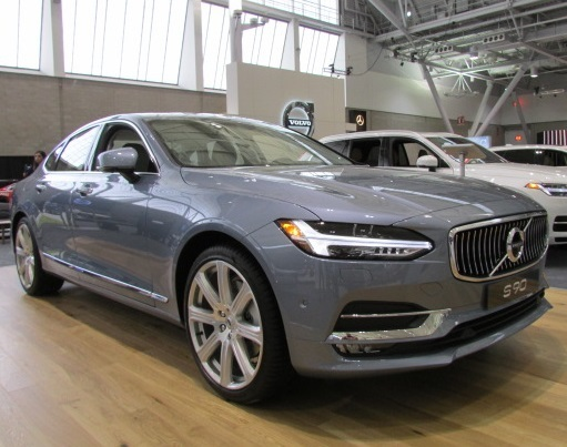 The Volvo S90 Sedan  (Mike Twist Photo)