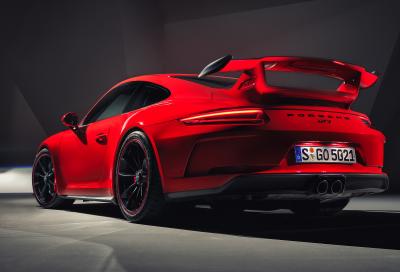 The 2018 Porsche 911 GT3  (Porsche of N.A. Photo)