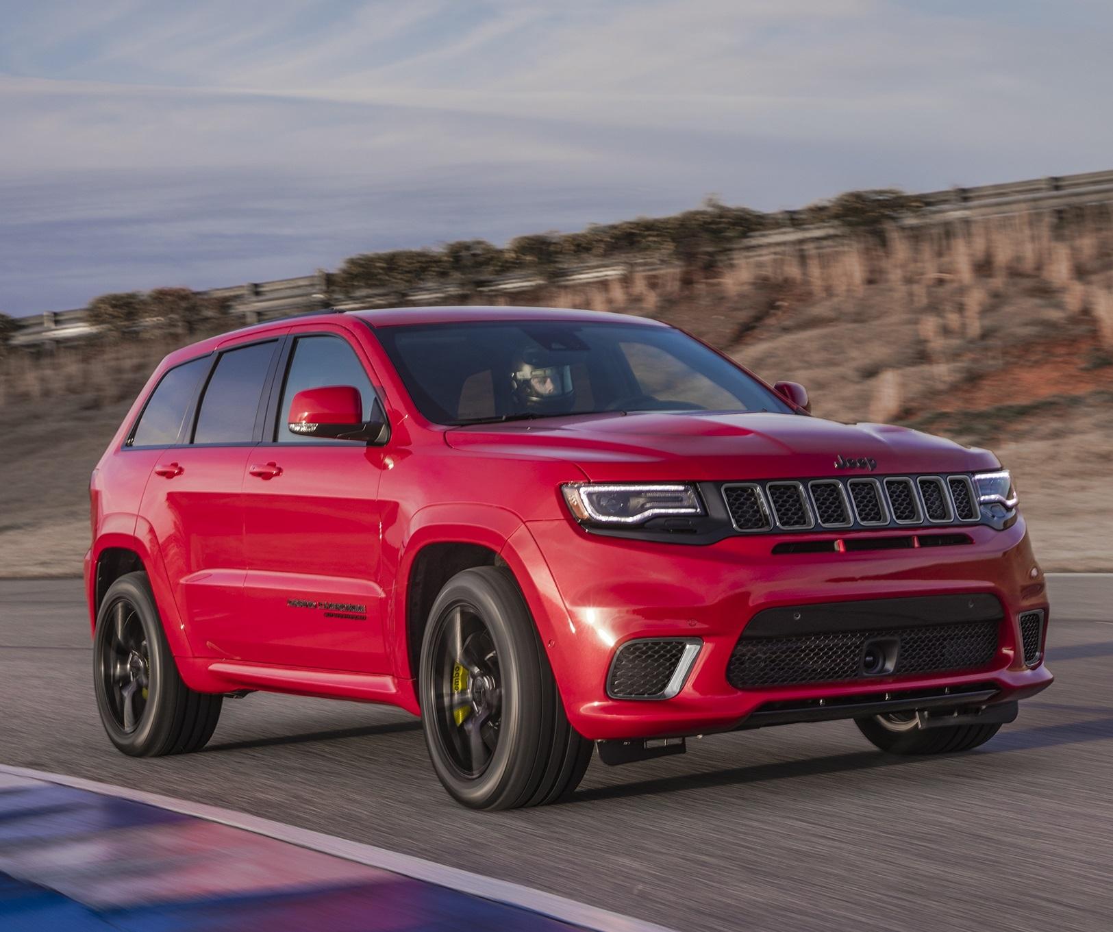 The 2018 Jeep Grand Cherokee Trackhawk  (FCA Photo)