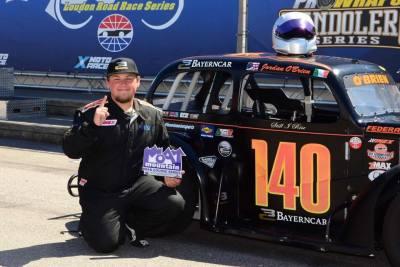 Jordan OBrien is used to winning.  (Jordan O'Brien Motorsports Photo)