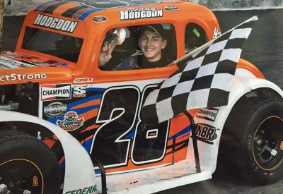 Terry Hodgdon  (Teddy Hodgdon Racing Photo)