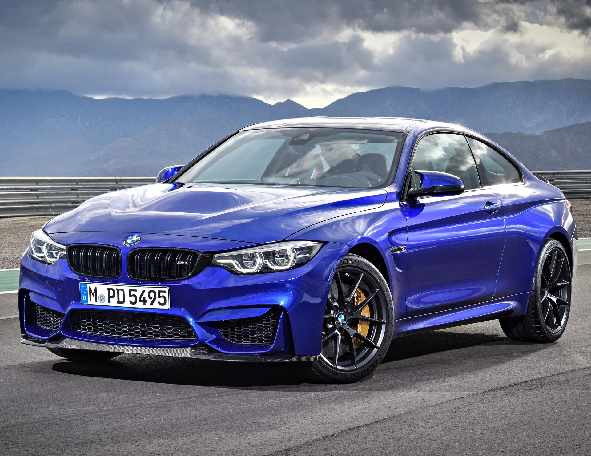 The BMW M4 CS  (BMW Photo)
