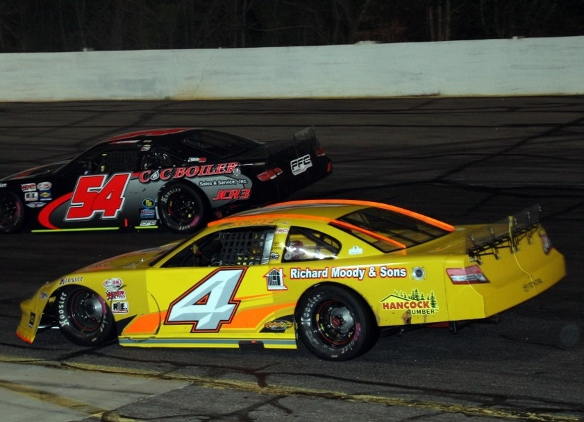 Ben Rowe (#4) is one of the drivers who will be racing at Oxford this Sunday.  (PASS Photo)