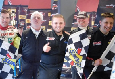 The winners of the 2017 Icebreaker Road Course races.  (Thompson Speedway Motorsports Park Photo)