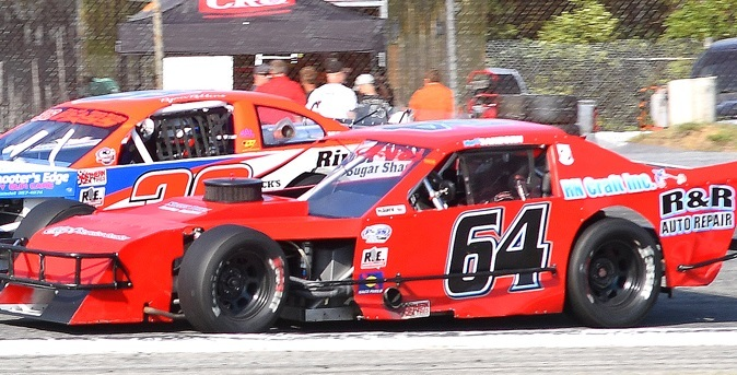 Matt Sanborn's #64 PASS Modified.  (PASS Photo)