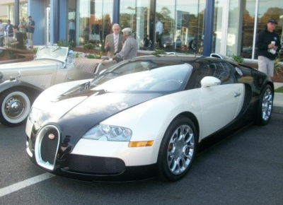 A Bugatti from a previous Cars and Coffee meet.  (Mike Twist Photo)