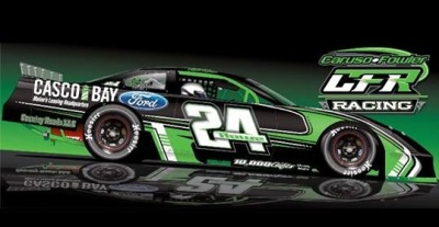 Mike Rowe's new ride.  (Caruso Fowler Racing Image)