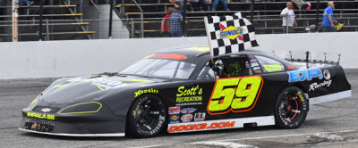 Reid Lanpher's winning #59 (PASS Photo)