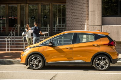 The Chevrolet Bolt EV.  (General Motors Photo)