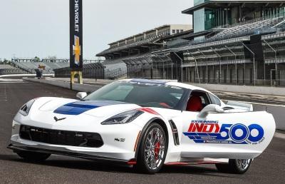 The 2017 Corvette Indy 500 Pace Car.  (GM Photo)