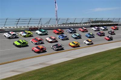 The Monster Energy Cup Series field at Talladega.  (NASCAR Photo)