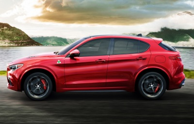 The Alfa Romeo Stelvio  (FCA Photo)