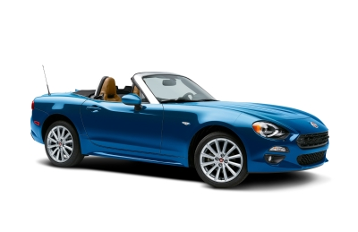 The Fiat 124 Spider Edizone Lusso Edition.  (FCA Photo)