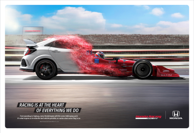 New Ad Campaign Heralds Honda Performance Models