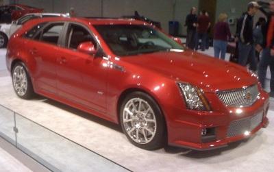 The 2011 Cadillac CTS-V Wagon.  (Mike Twist Photo)