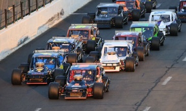 SK Light Modifieds at Stafford Motor Speedway (CT).  (Stafford Motor Speedway Photo)
