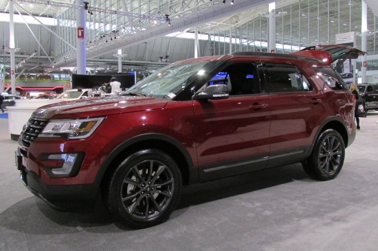 The 2017 Ford Explorer  (Ford Motor Company Photo)