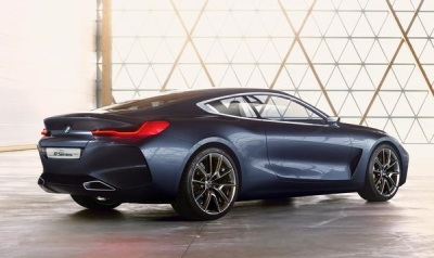 The BMW 8 Series Concept.  (BMW Photo)