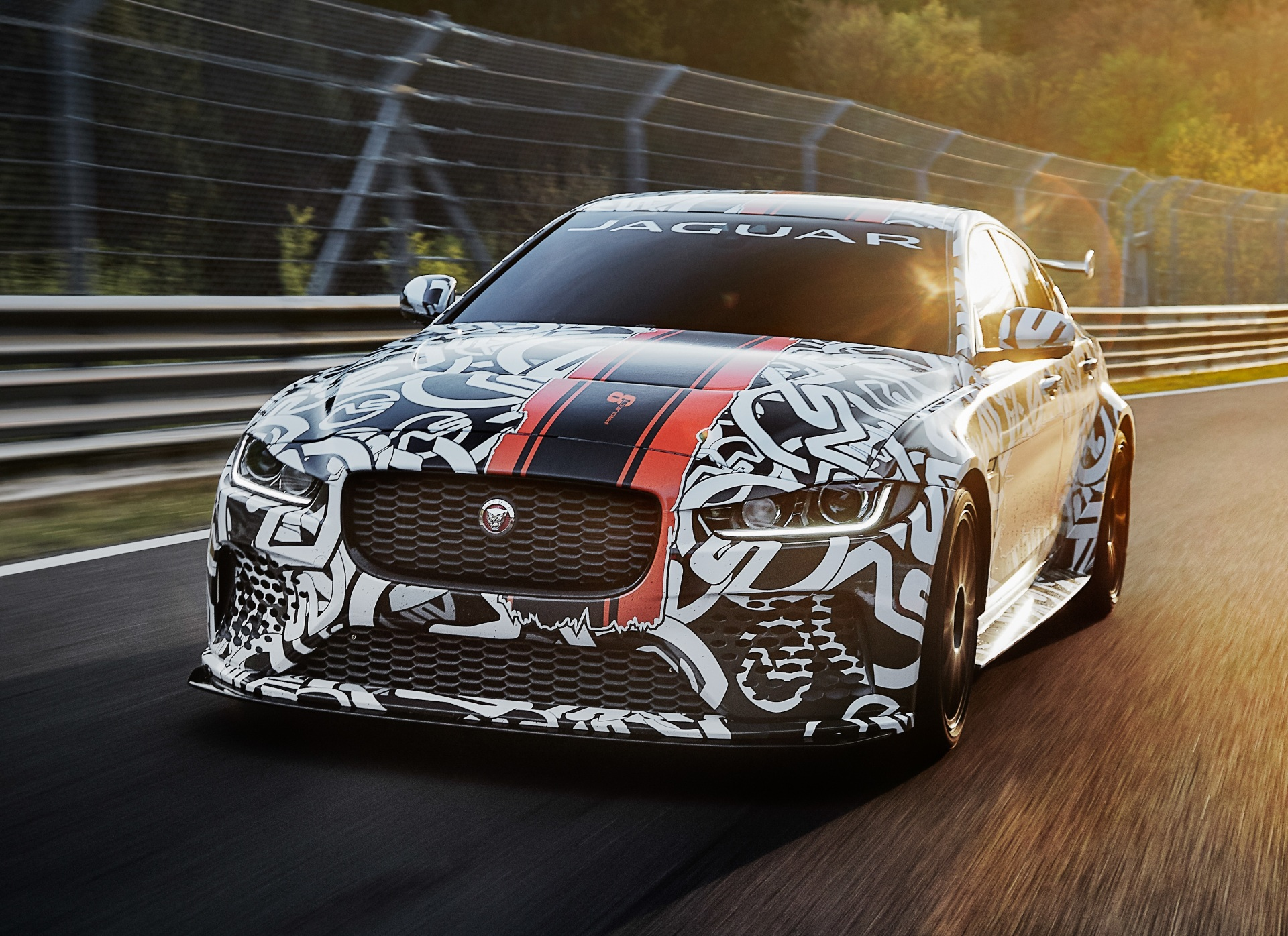 The Jaguar SVO Project 8.  (Jaguar Land Rover Photo)