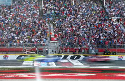 The start of the Coca-Cola 600 at Charlotte.  (NASCAR Photo)