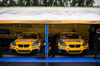 The Turner Motorsports team cars.  (BMW Photo)