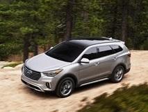 The 2018 Hyundai Santa Fe  (Hyundai Photo)