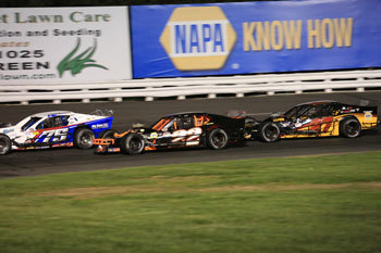 The SK Light Modifieds at Stafford Motor Speedway.  (Stafford Motor Speedway Photo)