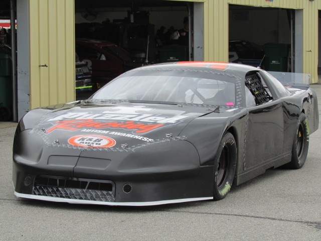 Wyatt Alexander tested his #96 car at NHMS in May.  (Mike Twist Photo)