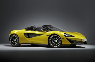 The McLaren 570s Spyder  (McLaren Photo)