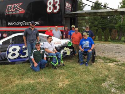 Wheelin' Team 457 and the #83 team.  (BK Racing Photo)