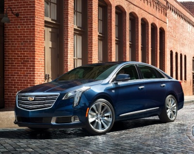 The 2018 Cadillac XTS  (GM Photo)