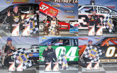 The June 23rd winners at Stafford.  (SMS Photo)