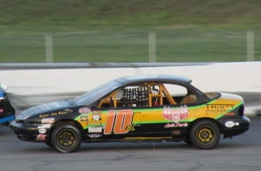 Mitch Bombard (#10) is one of the NEMST drivers who calls Waterford home.  (Mike Twist Photo)