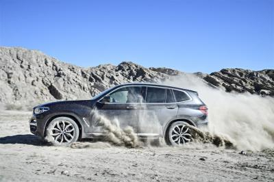 The BMW X3  (BMW Photo)