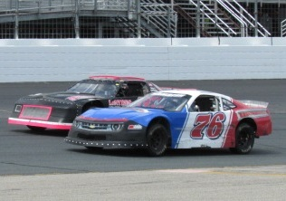 Street Stock action from New Hampshire Motor Speedway.  (Mike Twist Photo)