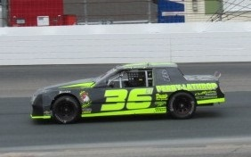 Corey Hutchings' #36  (Mike Twist Photo)