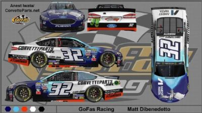 Go Fas Racing Signs Anest Iwata as New Sponsor