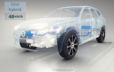 The Volvo Mild Hybrid System  (Volvo Photo)