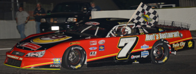 Travis Benjamin takes his victory lap.  (PASS Photo)