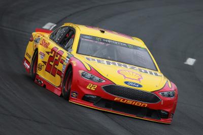 Joey Logano's #22 Ford.  (NASCAR Photo)