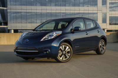 The Nissan Leaf  (Nissan Photo)