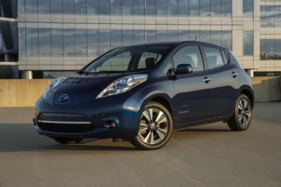 The Nissan Leaf  (Nissan Photo)