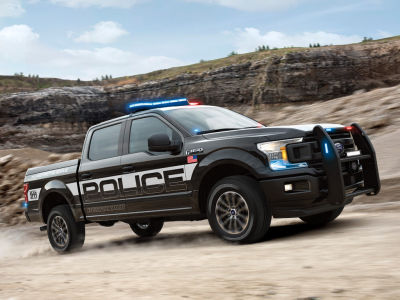 The Ford F-150 Police Responder.  (FoMoCo Photo)